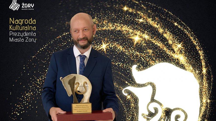 Grzegorz Granek otrzymał Nagrodę Kulturalną